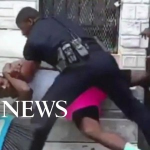 Police officer suspended after beating a man in Baltimore