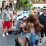 ORIGINAL PUBLISHER: Fight At Disneyland ToonTown 7/6/19. WARNING: GRAPHIC