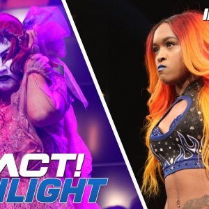 Su Yung Uses Demonic Power on Allie in Match with Kiera Hogan | IMPACT! Highlights Oct 25, 2018