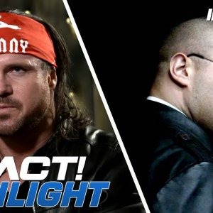 Johnny IMPACT vs Killer Kross for the World Title NEXT WEEK! | IMPACT! Highlights Nov 1, 2018