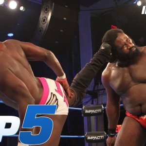 Top 5 CRAZIEST Moments from Rich Swann vs Willie Mack | IMPACT! Highlights Nov 1, 2018